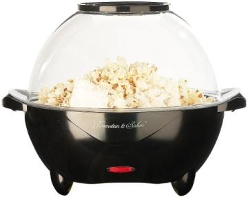 Popcornmaschine mit Heizplatte