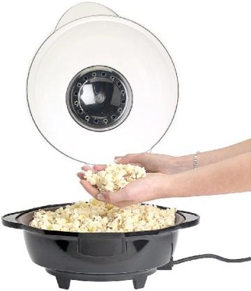 Rosenstein & Söhne Profi-Popcorn-Maschine für zu Hause - 3