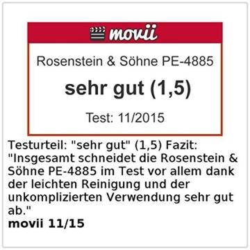 Rosenstein & Söhne Profi-Popcorn-Maschine für zu Hause - 7
