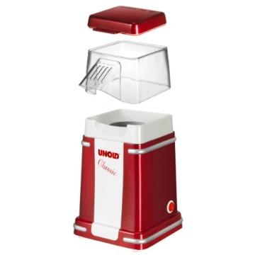 Unold Popcornmaschine in drei Teile zerlegbar