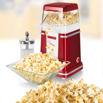 Unold Popcornmaschine Serviervorschlag