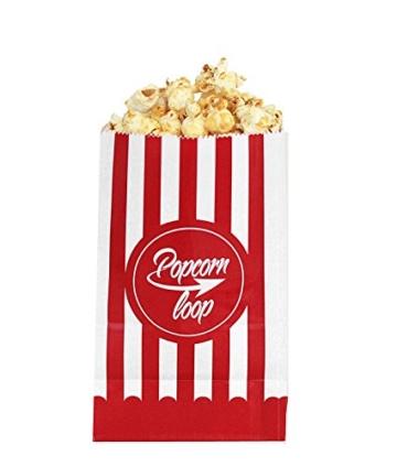 5 x 10er Popcornloop Popcorntüten -