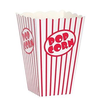 Bekith popcorn boxes, Party Partytüte Movie PopCorn, 48 St. -