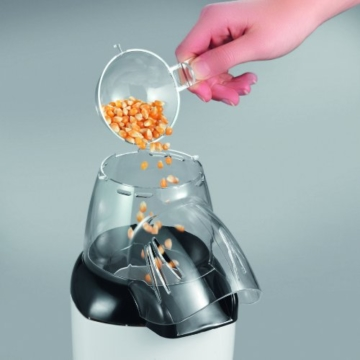 Severin Popcornmaschine befüllen
